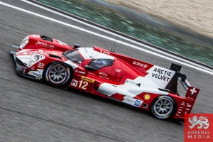 Nicolas Prost (FRA) / Nick Heidfeld (DEU) / Mathias Beche (CHE) / Car #12 LMP1 Rebellion Racing (CHE) Rebellion Toyota R-One Free Practice 3 - 6 Hours of Shanghai at Shanghai International Circuit - Shanghai - China