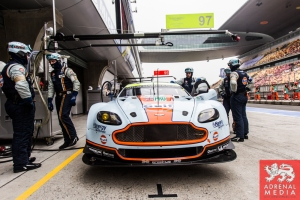 Ambience in the Aston Martin Pit Qualifying - LMGTE Pro & LMGTE Am - 6 Hours of Shanghai at Shanghai International Circuit - Shanghai - China