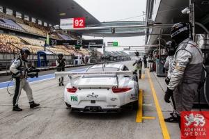 Patrick Pilet (DEU) / Frederic Makowiecki (FRA) / Car #92 LMGTE PRO Porsche Team Manthey (DEU) Porsche 911 RSR Qualifying - LMGTE Pro & LMGTE Am - 6 Hours of Shanghai at Shanghai International Circuit - Shanghai - China