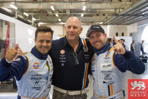 Paul Dalla Lana (CAN) / Pedro Lamy (PRT) / Christoffer Nygaard (DNK) / Car #98 LMGTE AM Aston Martin Racing (GBR) Aston Martin Vantage V8 qualify for pole Qualifying - LMGTE Pro & LMGTE Am - 6 Hours of Shanghai at Shanghai International Circuit - Shanghai