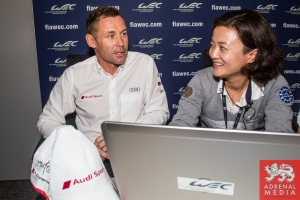 Twitter Event with Audi driver Tom Kristensen (DNK) - 6 Hours of Shanghai at Shanghai International Circuit - Shanghai - China