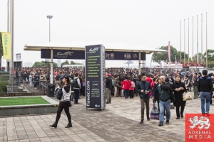 Crowds arriving early to the Circuit - 6 Hours of Shanghai at Shanghai International Circuit - Shanghai - China
