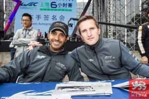Christian Ried (DEU) / Wolf Henzler (DEU) / Khaled Al Qubaisi (ARE) / Car #88 LMGTE AM Proton Competition (DEU) Porsche 911 RSR Autograph Session - 6 Hours of Shanghai at Shanghai International Circuit - Shanghai - China
