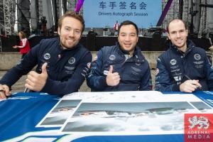 Aston Martin Team Autograph Session - 6 Hours of Shanghai at Shanghai International Circuit - Shanghai - China