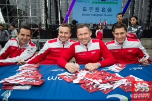 Audi team Autograph Session - 6 Hours of Shanghai at Shanghai International Circuit - Shanghai - China