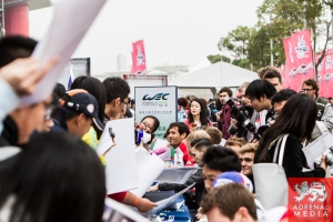 Mark Webber Autograph Session - 6 Hours of Shanghai at Shanghai International Circuit - Shanghai - China