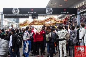 Grid Ambience, Traditonal Chinese Dragon, Dancers and Performers Race - 6 Hours of Shanghai at Shanghai International Circuit - Shanghai - China