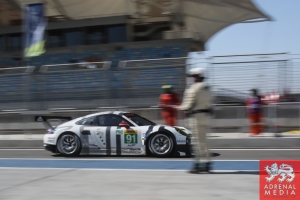 Richard Lietz (AUT) / Jorg Bergmeister (DEU) / Nick Tandy (GBR) / Car #91 LMGTE PRO Porsche Team Manthey (DEU) Porsche 911 RSR - 6 Hours of Bahrain at Bahrain International Circuit (BIC) - Sakhir - Kingdom of Bahrain