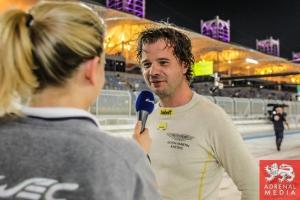 Kristian Poulsen  Kristian Poulsen (DNK) / David Heinemeier Hansson (DNK) / Nicki Thiim (DNK) / Car #95 LMGTE AM Aston Martin Racing (GBR) Aston Martin Vantage V8 - 6 Hours of Bahrain at Bahrain International Circuit (BIC) - Sakhir - Kingdom of Bahrain