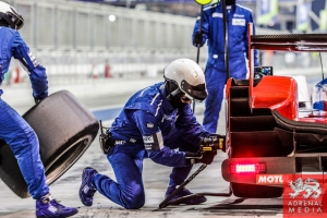 Serguey Zlobin (RUS) / Nicolas Minassian (FRA) / Maurizio Mediani (ITA) / Car #27 LMP2 SMP Racing (RUS) Oreca 03R-Nissan  - 6 Hours of Bahrain at Bahrain International Circuit (BIC) - Sakhir - Kingdom of Bahrain