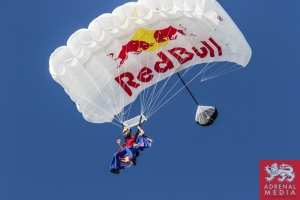 Red Bull Wing Suit Jump - 6 Hours of Bahrain at Bahrain International Circuit (BIC) - Sakhir - Kingdom of Bahrain