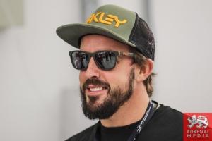 Fernando Alonso visit Bahrain
