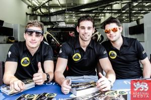 Pierre Kaffer (DEU) / Simon Trummer (CHE) / Nathanael Berthon (FRA) / Car #9 LMP1 LOTUS (ROU) Lotus T129 - AER - 6 Hours of Bahrain at Bahrain International Circuit (BIC) - Sakhir - Kingdom of Bahrain