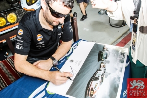 Darren Turner (GBR) / Stefan Mucke (DEU) / Car #97 LMGTE PRO Aston Martin Racing (GBR) Aston Martin Vantage V8  Darren Turner - 6 Hours of Bahrain at Bahrain International Circuit (BIC) - Sakhir - Kingdom of Bahrain