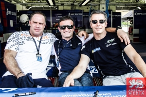 Serguey Zlobin (RUS) / Nicolas Minassian (FRA) / Maurizio Mediani (ITA) / Car #27 LMP2 SMP Racing (RUS) Oreca 03R-Nissan  - 6 Hours of Bahrain at Bahrain International Circuit (BIC) - Sakhir - Kingdom of Bahrain