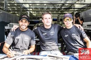 Christian Ried (DEU) / Klaus Bachler (AUT) / Khaled Al Qubaisi (ARE) / Car #88 LMGTE AM Proton Competition (DEU) Porsche 911 RSR - 6 Hours of Bahrain at Bahrain International Circuit (BIC) - Sakhir - Kingdom of Bahrain