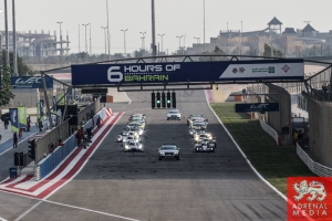 Safety Car with Cars - 6 Hours of Bahrain at Bahrain International Circuit (BIC) - Sakhir - Kingdom of Bahrain