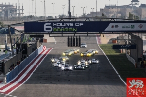 Start of the race - 6 Hours of Bahrain at Bahrain International Circuit (BIC) - Sakhir - Kingdom of Bahrain