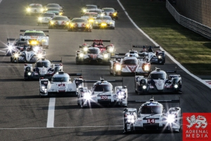 Start of the race - 6 Hours of Bahrain at Bahrain International Circuit (BIC) - Sakhir - Kingdom of Bahrain