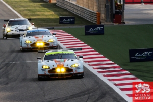 Darren Turner (GBR) / Stefan Mucke (DEU) / Car #97 LMGTE PRO Aston Martin Racing (GBR) Aston Martin Vantage V8 - 6 Hours of Bahrain at Bahrain International Circuit (BIC) - Sakhir - Kingdom of Bahrain