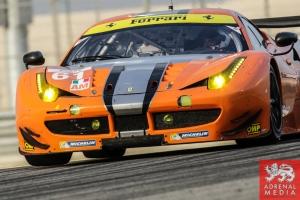 Alexander Talkanitsa (BLR) / Alessandro Pier Guidi (ITA) / Jeffrey Segal (USA) / Car #61 LMGTE AM AF Corse (ITA) Ferrari F458 Italia - 6 Hours of Bahrain at Bahrain International Circuit (BIC) - Sakhir - Kingdom of Bahrain