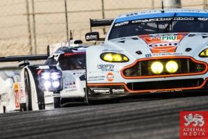 Alex MacDowall (GBR) / Abdulaziz Al Faisal (SAU) / Fernando Rees (BRA) / Car #99 LMGTE PRO Aston Martin Racing (GBR) Aston Martin Vantage V8 - 6 Hours of Bahrain at Bahrain International Circuit (BIC) - Sakhir - Kingdom of Bahrain