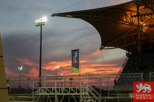 Sunset Main Stand - 6 Hours of Bahrain at Bahrain International Circuit (BIC) - Sakhir - Kingdom of Bahrain