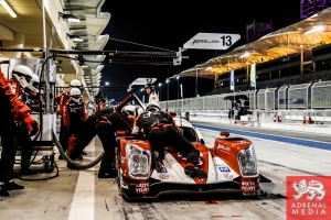 Dominik Kraihamer (AUT) / Andrea Belicchi (ITA) / Fabio Leimer (CHE) / Car #13 LMP1 Rebellion Racing (CHE) Rebellion Toyota R-One - 6 Hours of Bahrain at Bahrain International Circuit (BIC) - Sakhir - Kingdom of Bahrain