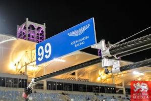 Alex MacDowall (GBR) / Abdulaziz Al Faisal (SAU) / Fernando Rees (BRA) / Car #99 LMGTE PRO Aston Martin Racing (GBR) Aston Martin Vantage V8 Pit Lane Ambience - 6 Hours of Bahrain at Bahrain International Circuit (BIC) - Sakhir - Kingdom of Bahrain