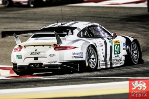 Richard Lietz (AUT) / Jorg Bergmeister (DEU) / Nick Tandy (GBR) / Car #91 LMGTE PRO Porsche Team Manthey (DEU) Porsche 911 RSR - 6 Hours of Bahrain at Bahrain International Circuit (BIC) - Sakhir - Kingdom of Bahrain