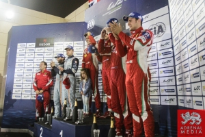 LMGTE Pro Podium - 6 Hours of Bahrain at Bahrain International Circuit (BIC) - Sakhir - Kingdom of Bahrain