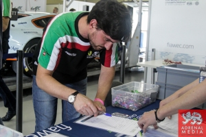 Drivers Signing On - 6 Hours of Sao Paulo at Interlagos Circuit - Sao Paulo - Brazil
