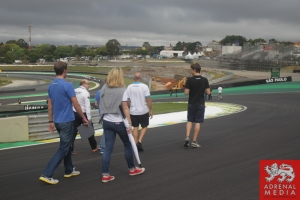 KCMG Team track Walk - 6 Hours of Sao Paulo at Interlagos Circuit - Sao Paulo - Brazil
