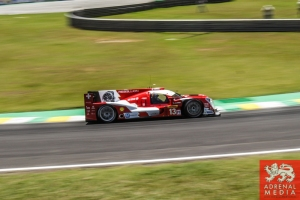 Dominik Kraihamer (AUT) / Andrea Belicchi (ITA) / Fabio Leimer (CHE) / Car #13 LMP1 Rebellion Racing (CHE) Rebellion Toyota R-One - 6 Hours of Sao Paulo at Interlagos Circuit - Sao Paulo - Brazil