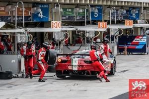 Stephen Wyatt (AUS) / Michele Rugolo (ITA) / Andrea Bertolini (ITA) / Car #81 LMGTE AM AF Corse (ITA) Ferrari F458 Italia - 6 Hours of Sao Paulo at Interlagos Circuit - Sao Paulo - Brazil