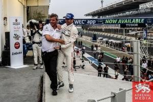 LMP1-H Podium - 6 Hours of Sao Paulo at Interlagos Circuit - Sao Paulo - Brazil