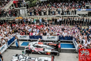 LMP1-H Podium - 6 Hours of Sao Paulo at Interlagos Circuit - Sao Paulo - Brazil