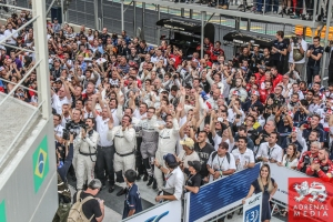 Paddock Celebrations - 6 Hours of Sao Paulo at Interlagos Circuit - Sao Paulo - Brazil