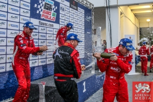 LMP1-L Podium - 6 Hours of Sao Paulo at Interlagos Circuit - Sao Paulo - Brazil