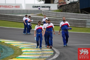 Toyota Team Track Walk - 6 Hours of Sao Paulo at Interlagos Circuit - Sao Paulo - Brazil