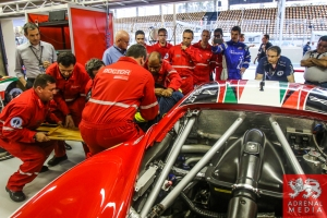 Extraction LMGTE - 6 Hours of Sao Paulo at Interlagos Circuit - Sao Paulo - Brazil