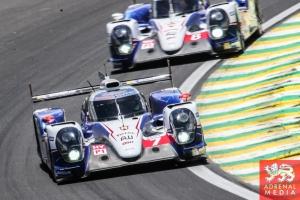 Alexander Wurz (AUT) / Stephane Sarrazin (FRA) / Mike Conway (GBR) / Car #7 LMP1 Toyota Racing (JPN) Toyota TS 040 - Hybrid - 6 Hours of Sao Paulo at Interlagos Circuit - Sao Paulo - Brazil