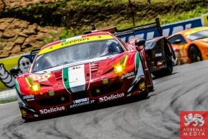 Gianluca Roda (ITA) / Paolo Ruberti (ITA) / Matteo Cressoni (ITA) / Car #90 LMGTE AM 8 Star Motorsports (USA) Ferrari F458 Italia - 6 Hours of Sao Paulo at Interlagos Circuit - Sao Paulo - Brazil