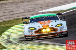 Paul Dalla Lana (CAN) / Pedro Lamy (PRT) / Christoffer Nygaard (DNK) / Car #98 LMGTE AM Aston Martin Racing (GBR) Aston Martin Vantage V8 - 6 Hours of Sao Paulo at Interlagos Circuit - Sao Paulo - Brazil