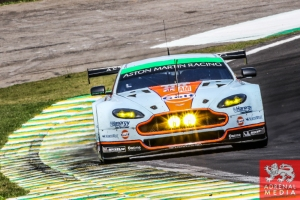 Paul Dalla Lana (CAN) / Pedro Lamy (PRT) / Christoffer Nygaard (DNK) / Car #98 LMGTE AM Aston Martin Racing (GBR) Aston Martin Vantage V8 - 6 Hours of Sao Paulo at Interlagos Circuit - Sao Paulo - Brazil
