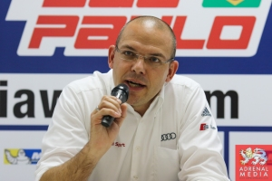 Chris Reinke Head of LMP Audi - 6 Hours of Sao Paulo at Interlagos Circuit - Sao Paulo - Brazil