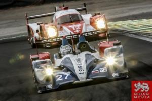 Serguey Zlobin (RUS) / Nicolas Minassian (FRA) / Maurizio Mediani (ITA) / Car #27 LMP2 SMP Racing (RUS) Oreca 03R - Nissan  - 6 Hours of Sao Paulo at Interlagos Circuit - Sao Paulo - Brazil
