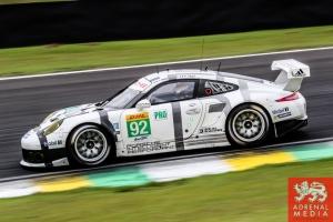 Patrick Pilet (FRA) / Frederic Makowiecki (FRA) / Car #92 LMGTE PRO Porsche Team Manthey (DEU) Porsche 911 RSR - 6 Hours of Sao Paulo at Interlagos Circuit - Sao Paulo - Brazil