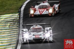 Timo Bernhard (DEU) / Mark Webber (AUS) / Brendon Hartley (NZL) / Car #20 LMP1 Porsche Team (DEU) Porsche 919 Hybrid - 6 Hours of Sao Paulo at Interlagos Circuit - Sao Paulo - Brazil