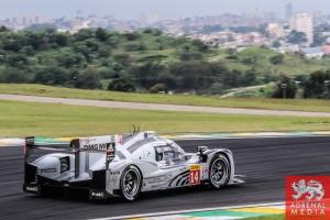 Romain Dumas (FRA) / Neel Jani (CHE) / Marc Lieb (DEU) / Car #14 LMP1 Porsche Team (DEU) Porsche 919 Hybrid  - 6 Hours of Sao Paulo at Interlagos Circuit - Sao Paulo - Brazil